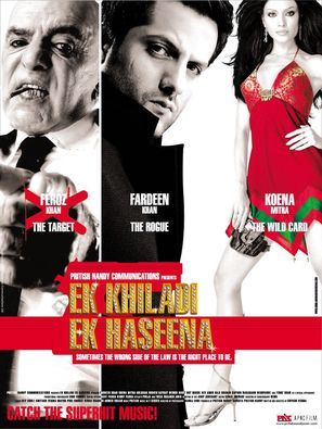 Ek Khiladi Ek Haseena - Indian Movie Poster (thumbnail)