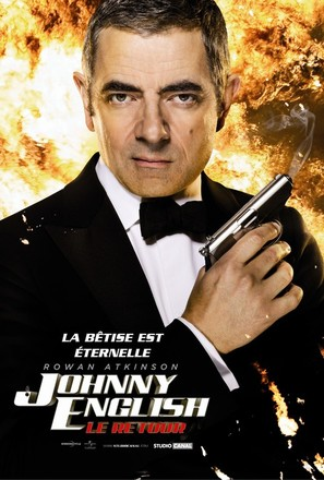 Johnny English Reborn - French Movie Poster (thumbnail)