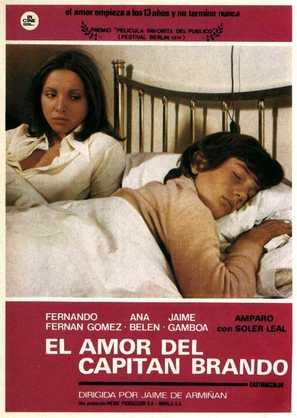 Amor del capitán Brando, El - Spanish Movie Poster (thumbnail)