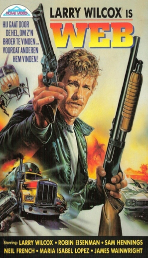 Mission Manila - Dutch VHS movie cover (thumbnail)