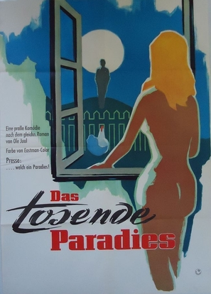 Det tossede paradis - German Movie Poster (thumbnail)