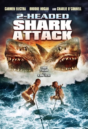 2 Headed Shark Attack - DVD movie cover (thumbnail)
