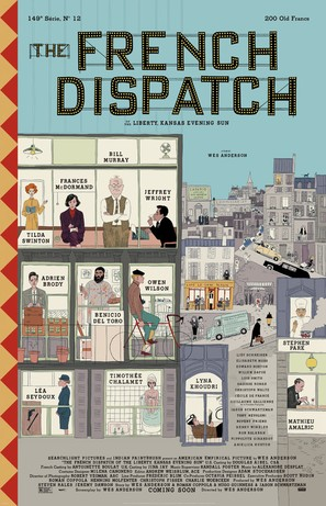The French Dispatch - Movie Poster (thumbnail)