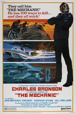 The Mechanic - Movie Poster (thumbnail)
