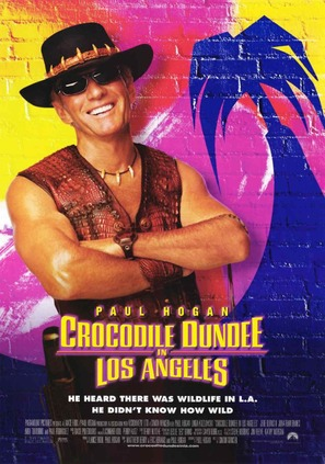 Crocodile Dundee in Los Angeles - Movie Poster (thumbnail)