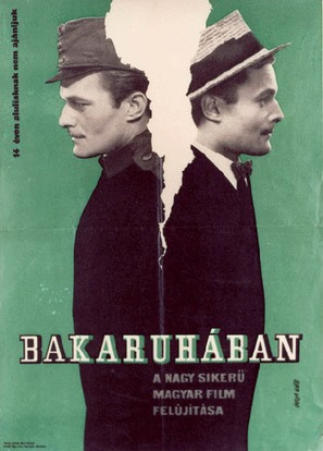 Bakaruhában - Hungarian Movie Poster (thumbnail)