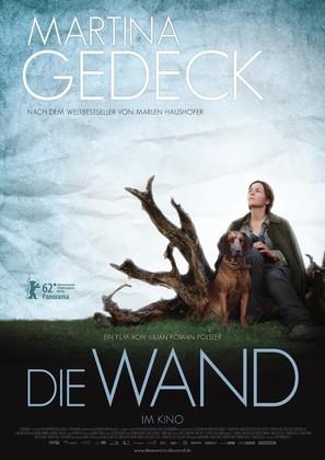 Die Wand - German Movie Poster (thumbnail)
