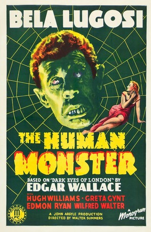 The Human Monster - Movie Poster (thumbnail)