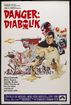 Diabolik - Movie Poster (thumbnail)