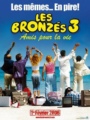 Les bronzés 3: amis pour la vie - French Movie Poster (thumbnail)