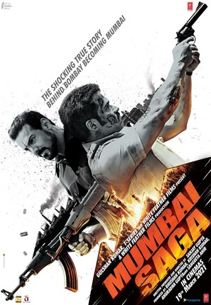 Mumbai Saga - Indian Movie Poster (thumbnail)