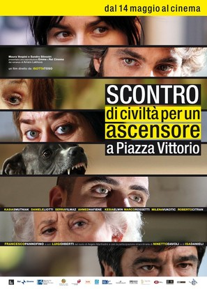 Scontro di civiltà per un ascensore a Piazza Vittorio - Italian Movie Poster (thumbnail)
