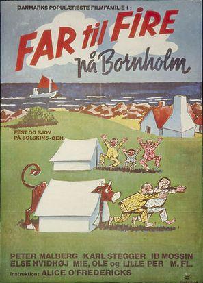 Far til fire på Bornholm