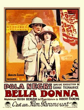Bella Donna - Belgian Movie Poster (thumbnail)