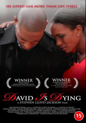 David Is Dying - British DVD movie cover (thumbnail)