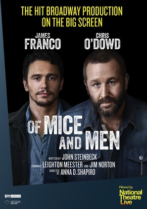 National Theater Live: Of Mice and Men - British Movie Poster (thumbnail)