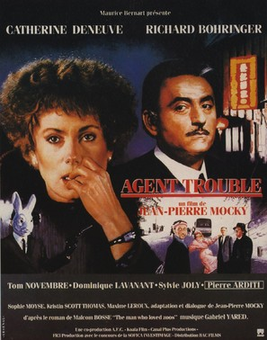 Agent trouble - French Movie Poster (thumbnail)