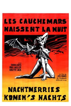 Cauchemars naissent la nuit, Les - Belgian Movie Poster (thumbnail)
