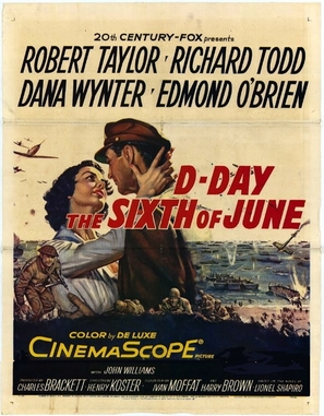 D-Day the Sixth of June - Movie Poster (thumbnail)