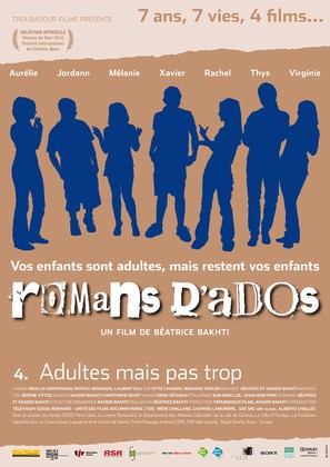 Romans d'ados 2002-2008: 4. Adultes mais pas trop... - French Movie Poster (thumbnail)