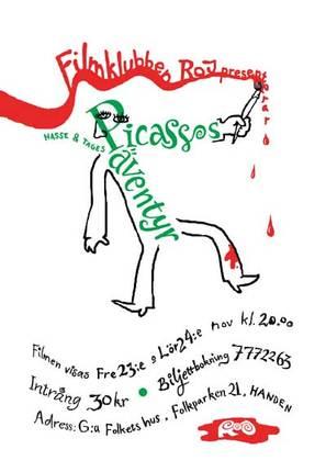 Picassos äventyr - Swedish Movie Poster (thumbnail)