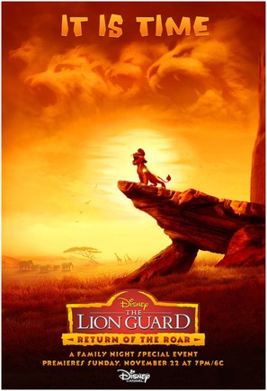 The Lion Guard: Return of the Roar - Movie Poster (thumbnail)