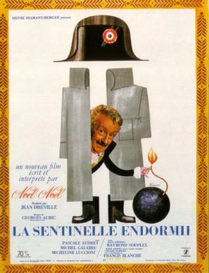La sentinelle endormie - French Movie Poster (thumbnail)