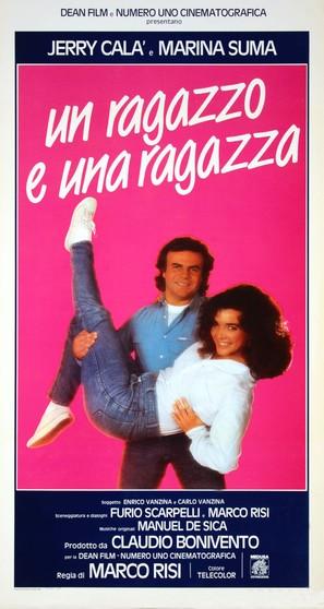 Un ragazzo e una ragazza - Italian Movie Poster (thumbnail)