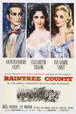 Raintree County - Theatrical poster (thumbnail)