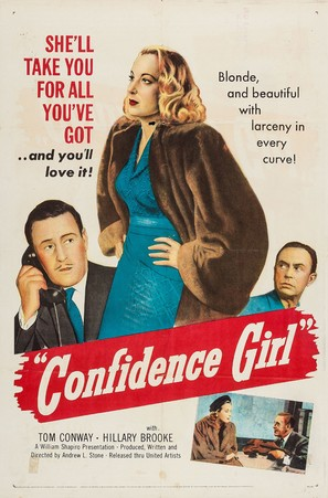 Confidence Girl - Movie Poster (thumbnail)