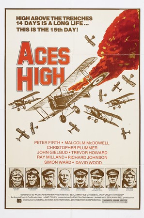 Aces High - Movie Poster (thumbnail)