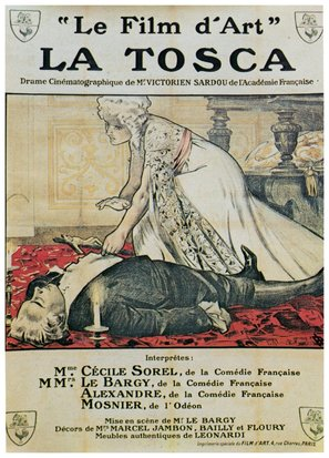 La Tosca - French Movie Poster (thumbnail)