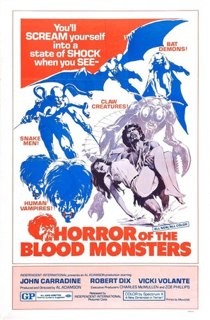 Horror of the Blood Monsters - Movie Poster (thumbnail)