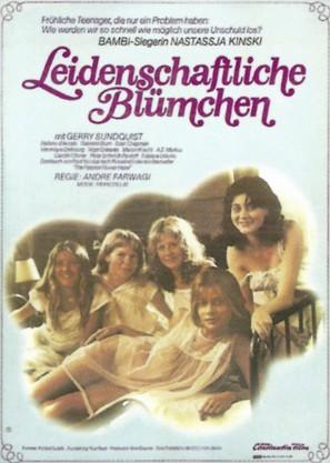 Leidenschaftliche Blümchen - German Movie Poster (thumbnail)