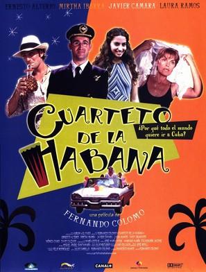 Cuarteto de La Habana - Spanish poster (thumbnail)