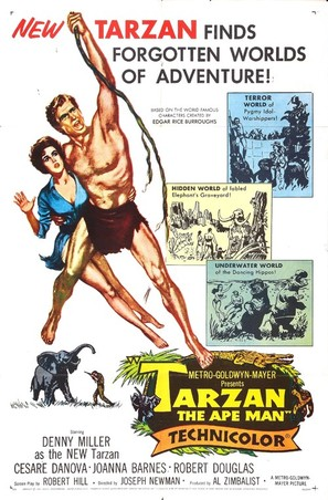 Tarzan, the Ape Man - Movie Poster (thumbnail)