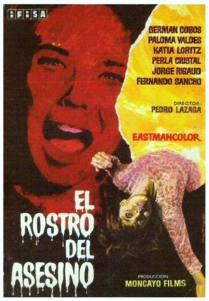 El rostro del asesino - Spanish Movie Poster (thumbnail)