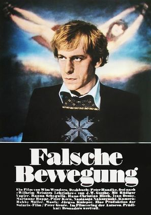 Falsche Bewegung - German Movie Poster (thumbnail)