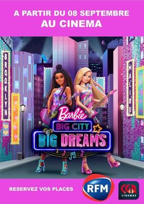 Barbie: Big City, Big Dreams - French Movie Poster (thumbnail)