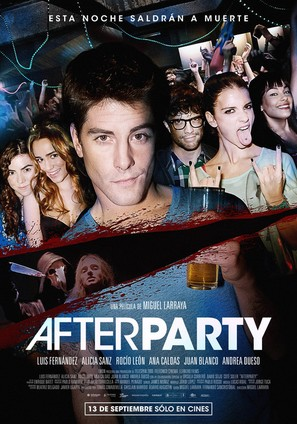 Afterparty - Spanish Movie Poster (thumbnail)