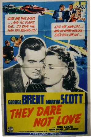 They Dare Not Love - Movie Poster (thumbnail)