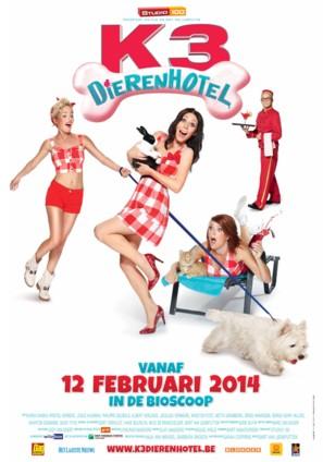 K3 Dierenhotel - Belgian Movie Poster (thumbnail)