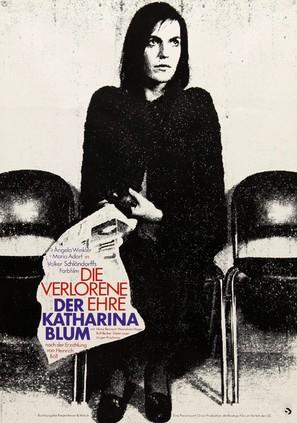 Die verlorene Ehre der Katharina Blum oder: Wie Gewalt entstehen und wohin sie führen kann - German Movie Poster (thumbnail)