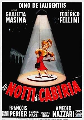 Le notti di Cabiria - Italian Movie Poster (thumbnail)