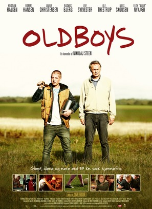 Oldboys - Danish Movie Poster (thumbnail)