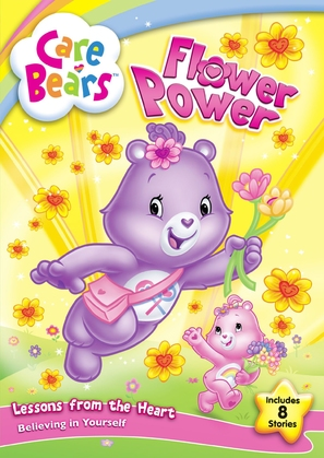 """The Care Bears"" - DVD movie cover (thumbnail)"