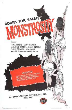 Monstrosity - Movie Poster (thumbnail)