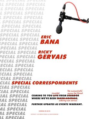 Special Correspondents - British Movie Poster (thumbnail)