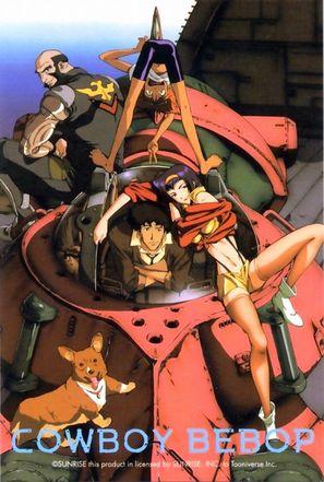 """Kaubôi bibappu: Cowboy Bebop"" - Japanese Movie Poster (thumbnail)"