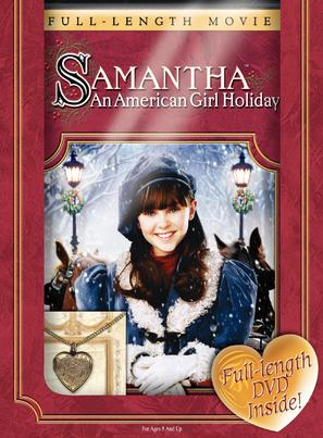 Samantha: An American Girl Holiday - DVD cover (thumbnail)